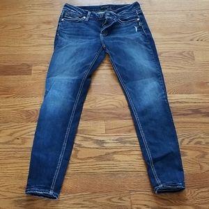 "Silver ""Suki"" skinny jeans"